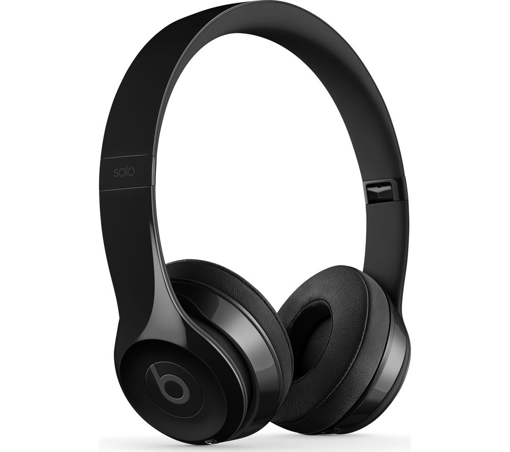 BEATS BY DR DRE Solo 3 Wireless Bluetooth Headphones - Gloss Black, Black