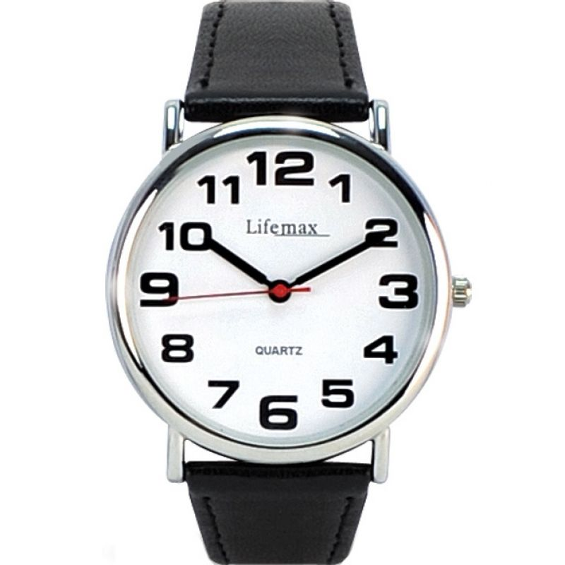 Mens Lifemax Clear Time Watch