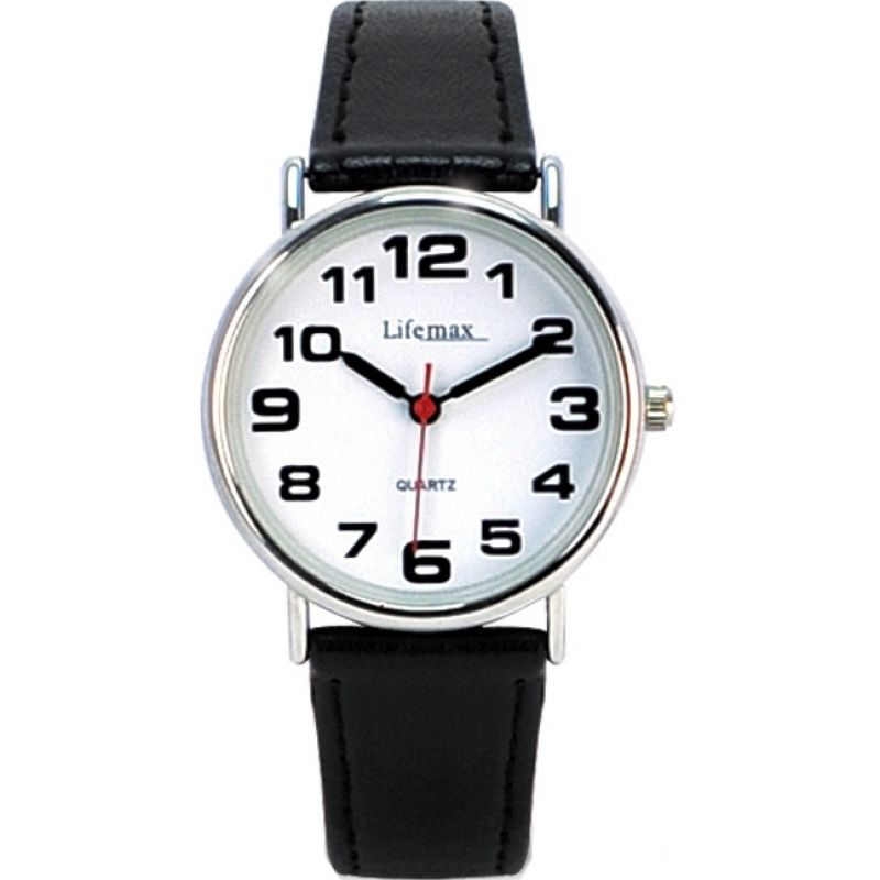 Unisex Lifemax Clear Time Watch