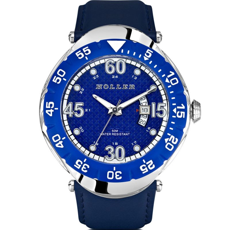 Mens Holler Goldwax Blue Watch