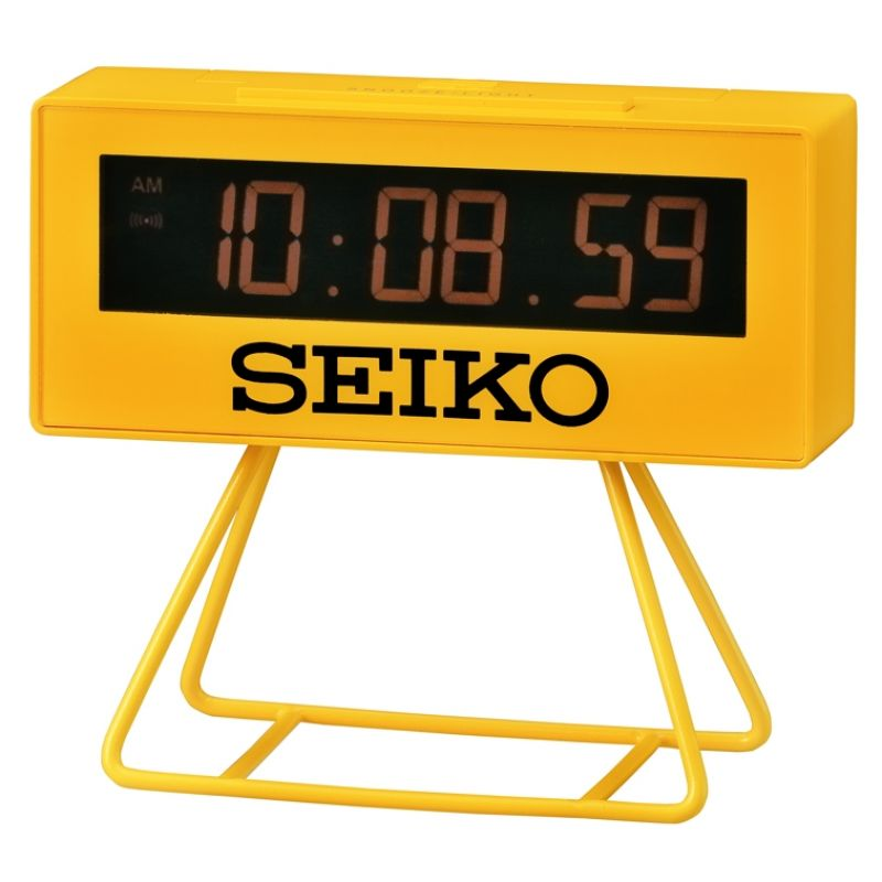 Seiko Clocks Countdown Style LCD Alarm Clock