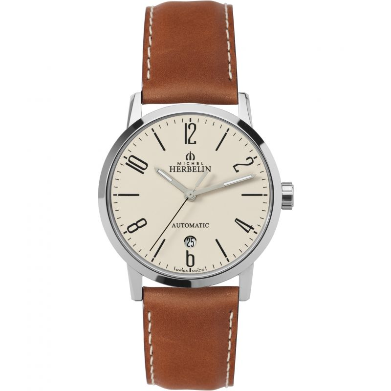 Mens Michel Herbelin Classic Sonates Automatic Watch