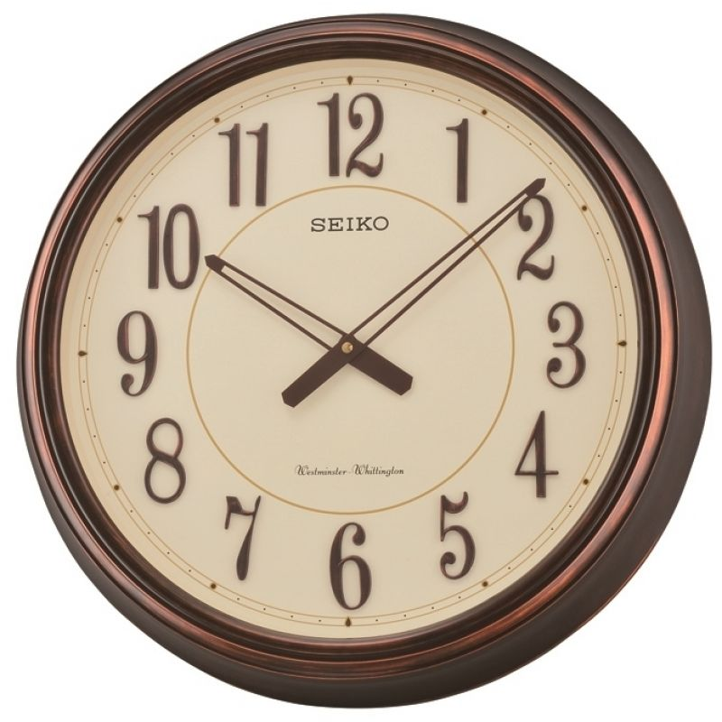 Seiko Clocks Chiming Wooden Wall Clock