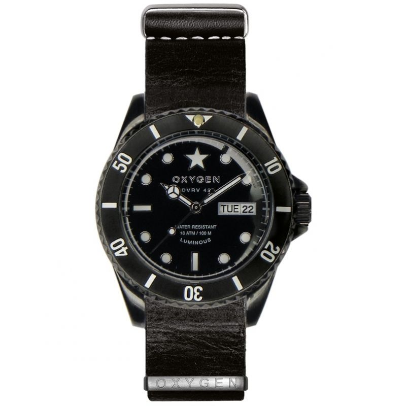 Mens Oxygen Diver Vintage Watch