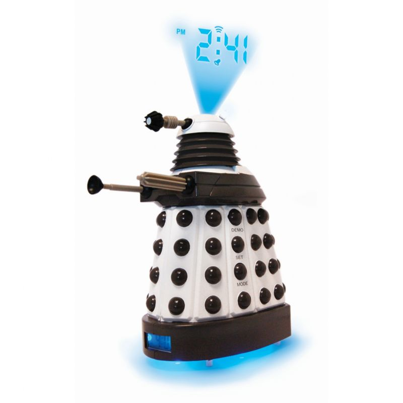 Character Dr Who Dalek Projection Alarm Watch