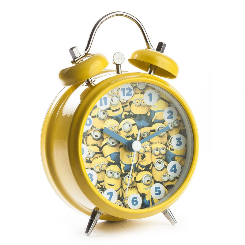 Character Minions Twinbell Alarm Watch
