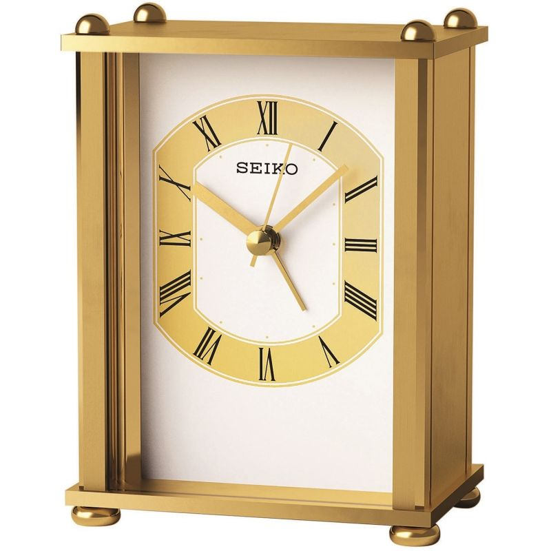 Seiko Clocks Carriage Mantel Clock