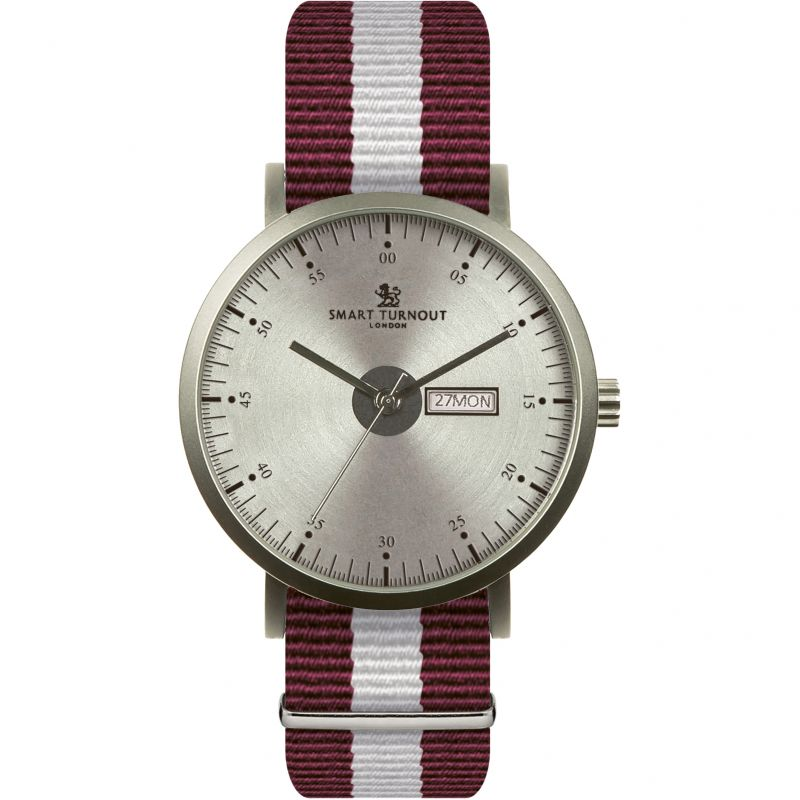 Mens Smart Turnout City Watch - Silver Harvard University Watch