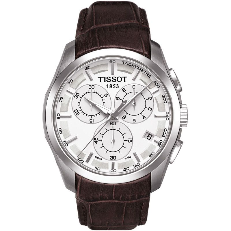 Mens Tissot Couturier Chronograph Watch