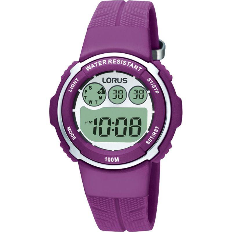 Childrens Lorus Alarm Chronograph Watch