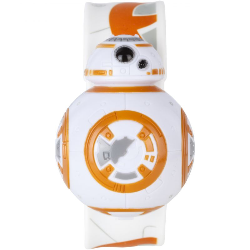 Childrens Star Wars BB8 Digital Flip Silicone Slap Watch