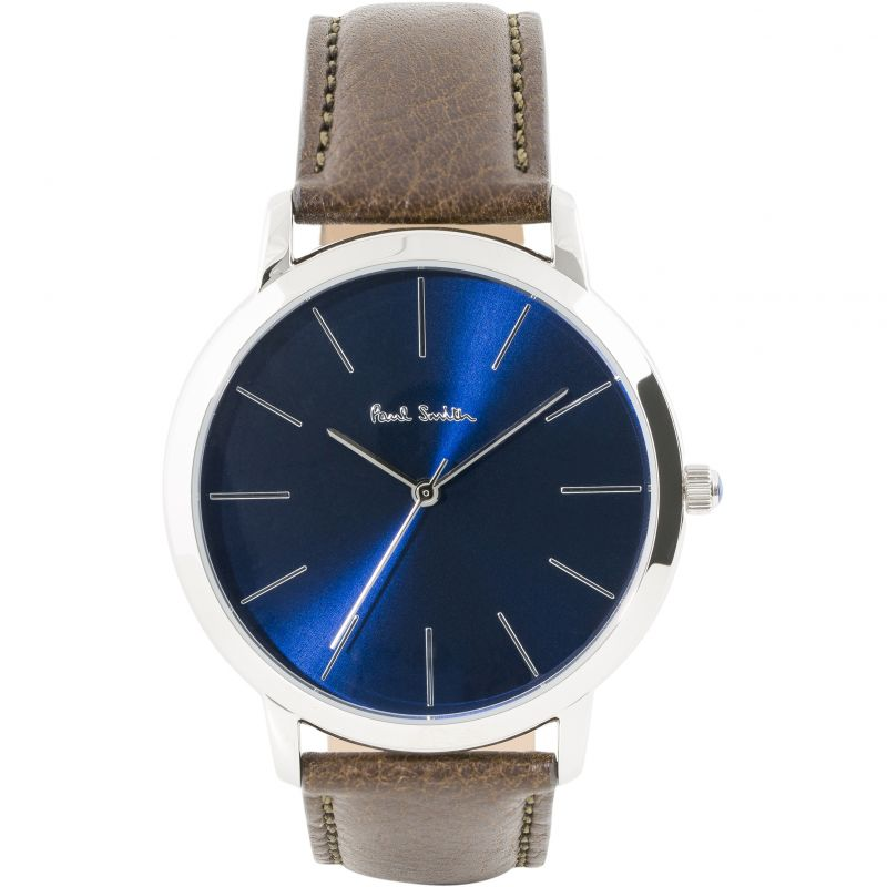 Mens Paul Smith MA Leather Strap Watch