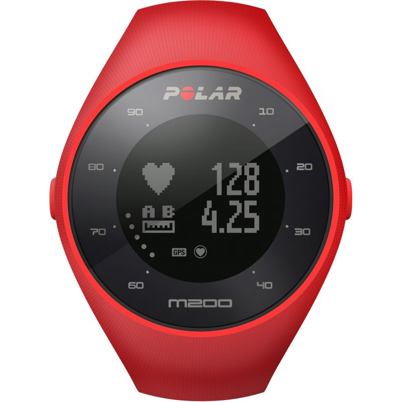 Unisex Polar M200 Bluetooth GPS Activity Tracker Heart Rate Monitor Chronograph Watch
