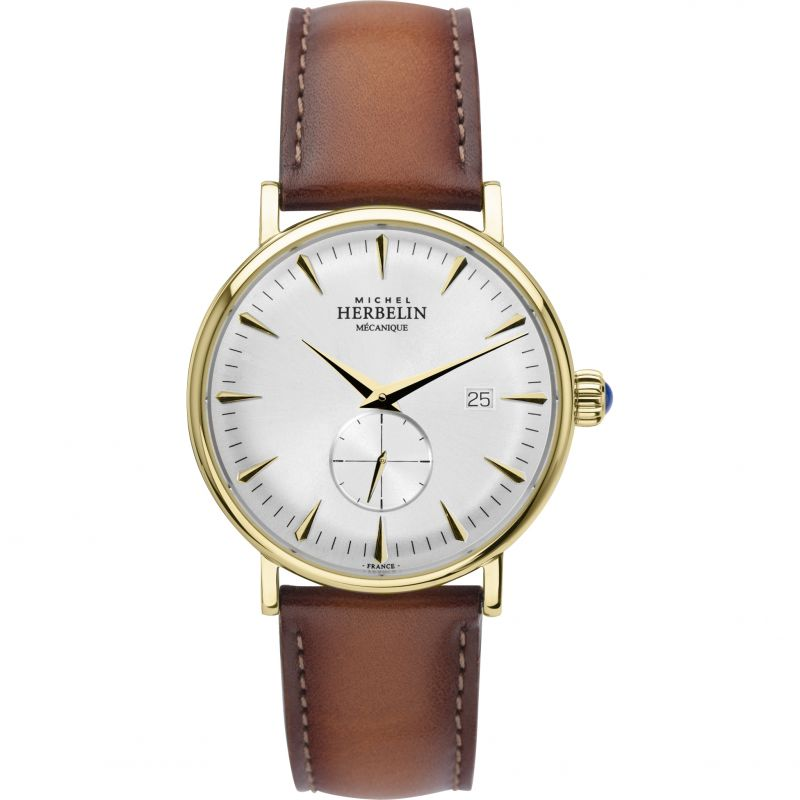 Mens Michel Herbelin Inspiration 1947 70th Anniversary Limited Edition Mechanical Watch