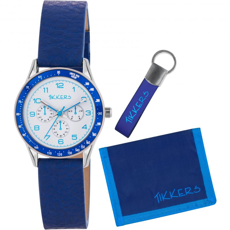 Childrens Tikkers Wallet Gift Set Watch
