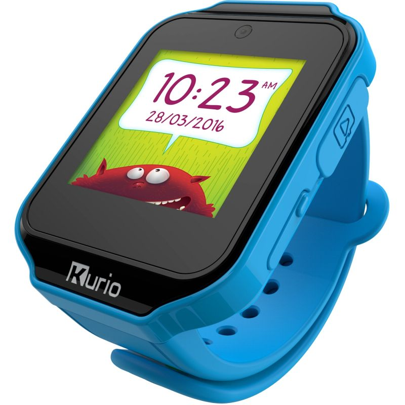 Childrens Kurio Bluetooth Smart 1.0 Blue Alarm Chronograph Watch