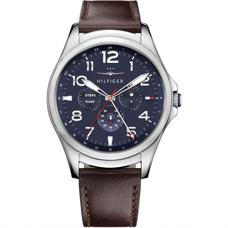 Mens Tommy Hilfiger TH 24-7 Bluetooth Android Wear Watch