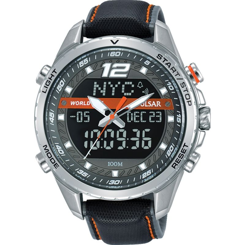 Mens Pulsar Sports Chronograph Watch
