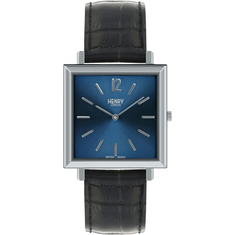 Mens Henry London Heritage Square Watch