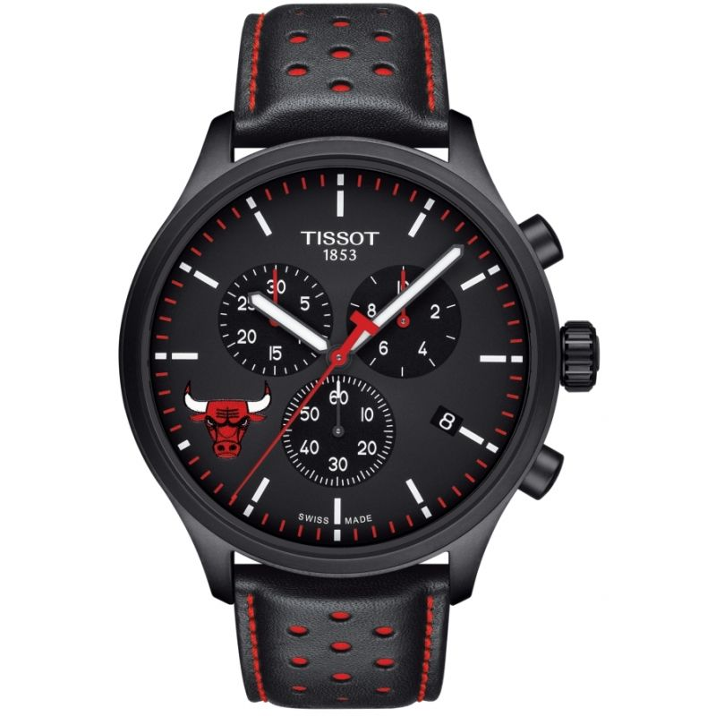 Mens Tissot Chrono XL NBA Chicago Bulls Chronograph Watch