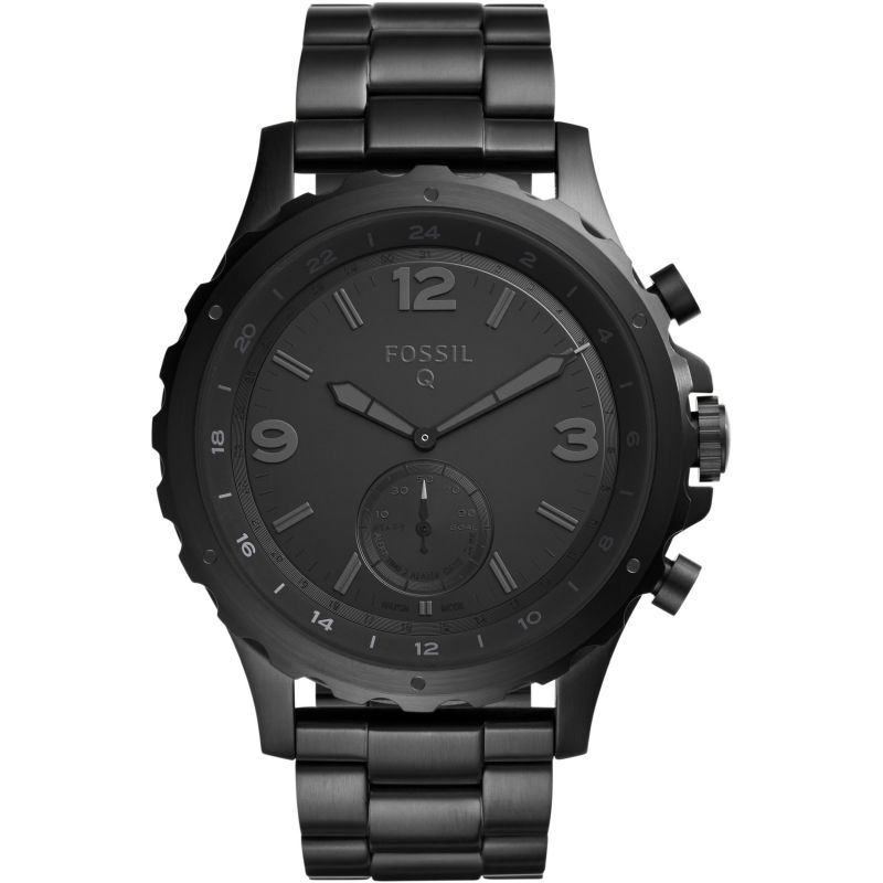 Fossil Q Nate Bluetooth Hybrid Smart Watch