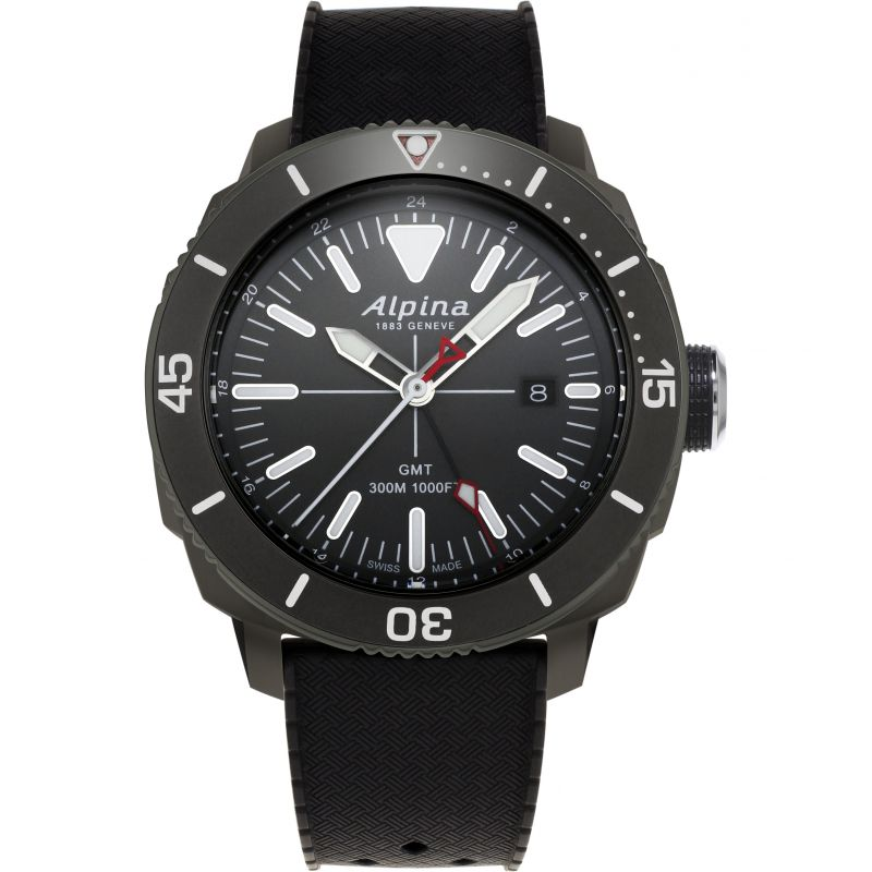 Alpina Seastrong Diver GMT Watch
