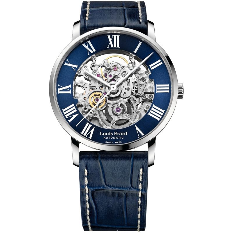 Louis Erard Excellence Skeleton Automatic Watch