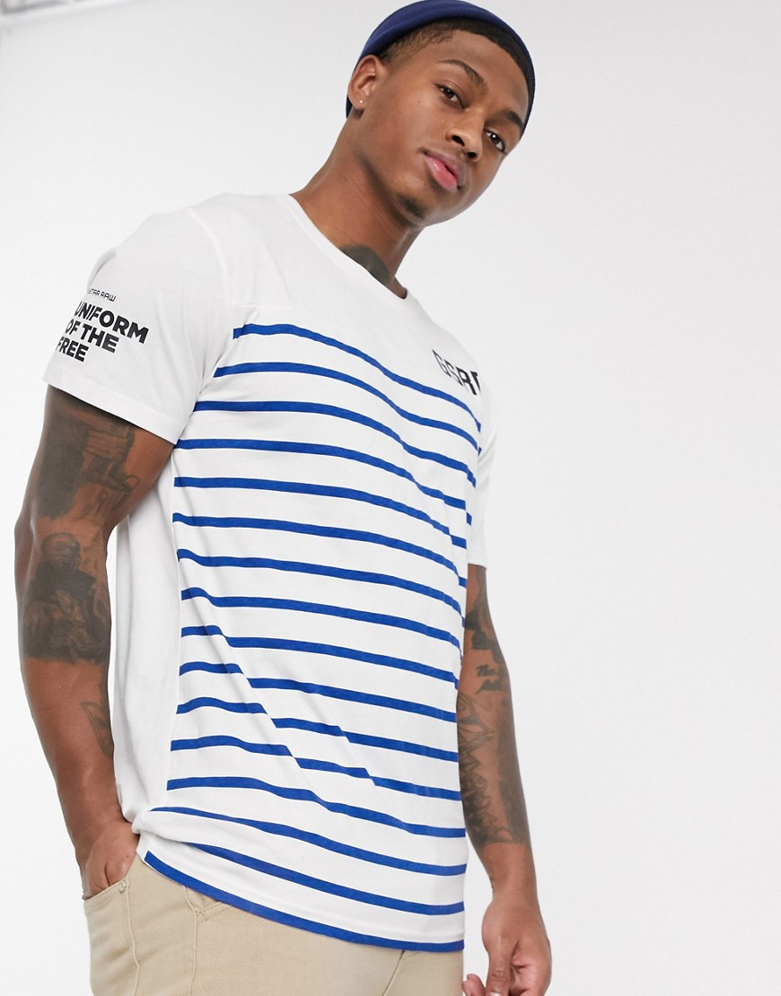 G-Star graphic t-shirt-Blue