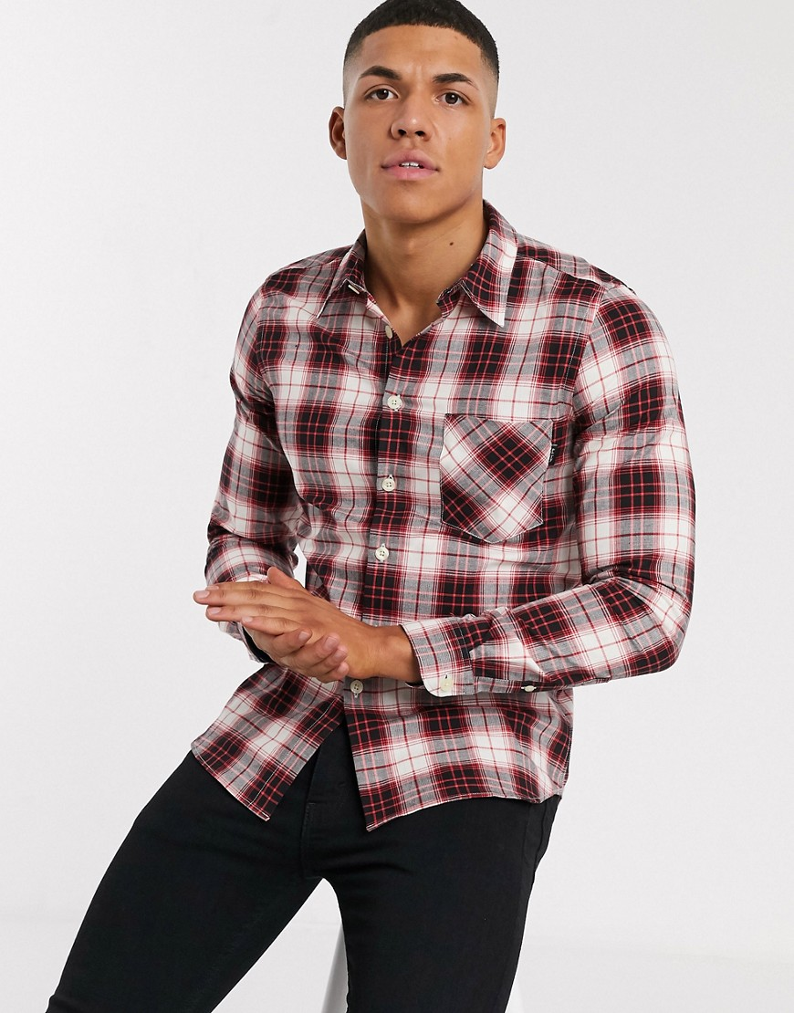 PS Paul Smith checked shirt in red