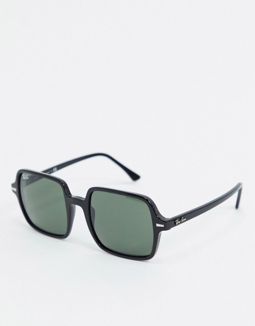 Ray-Ban 0RB1973 oversized square sunglasses in black