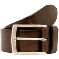Anderson Belts Plain Dark Brown Leather Belt AF3018