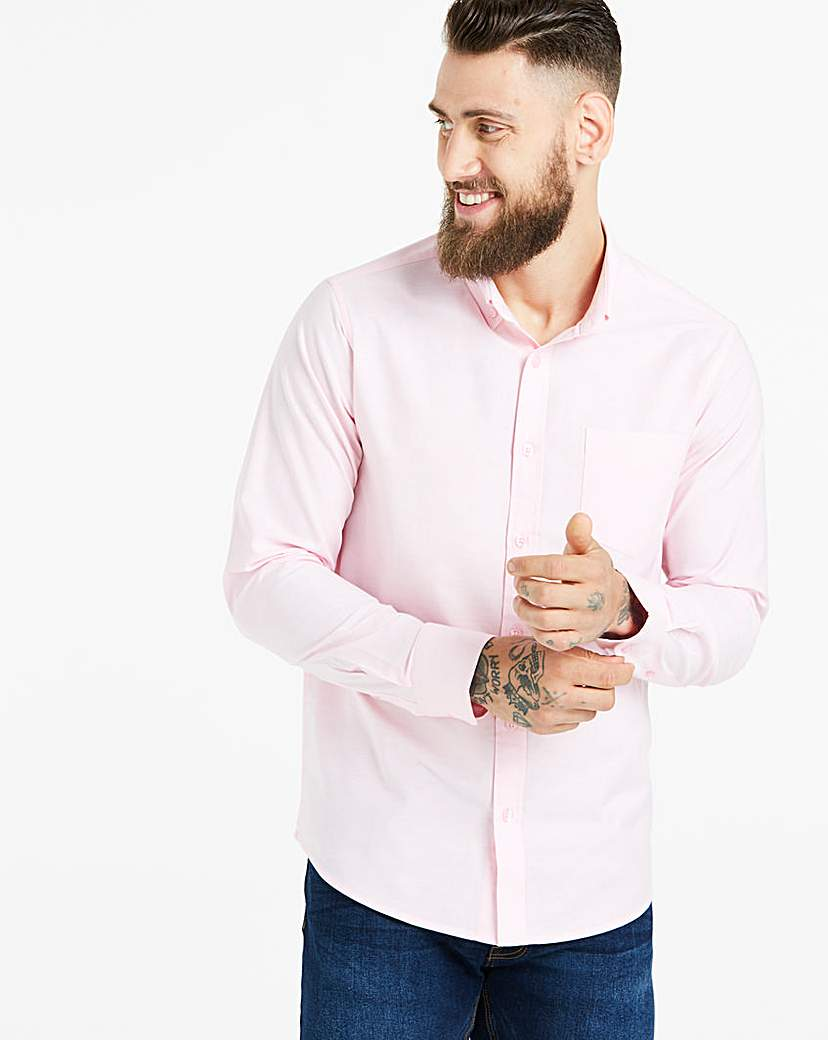 Capsule Baby Pink L/S Oxford Shirt R