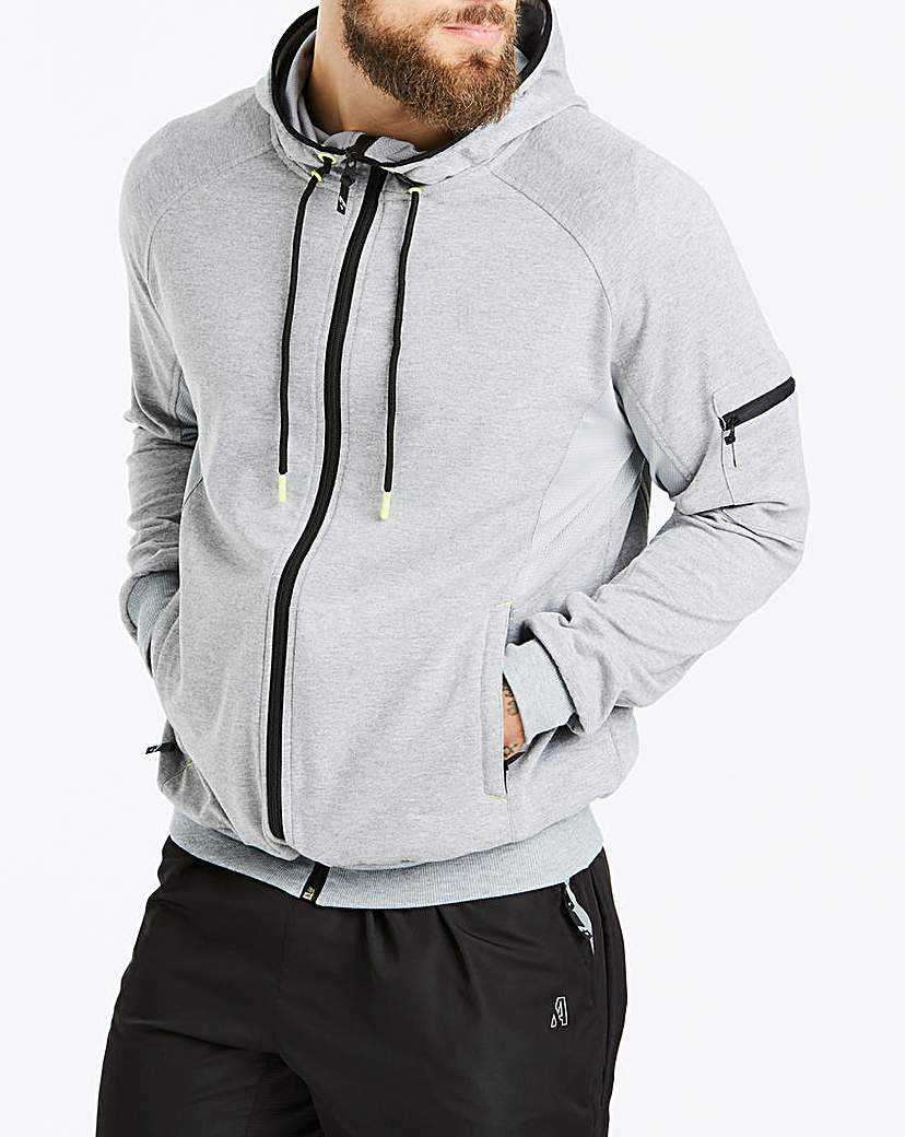 CAPSULE ACTIVE TECHNICAL HOODIE- REGULAR
