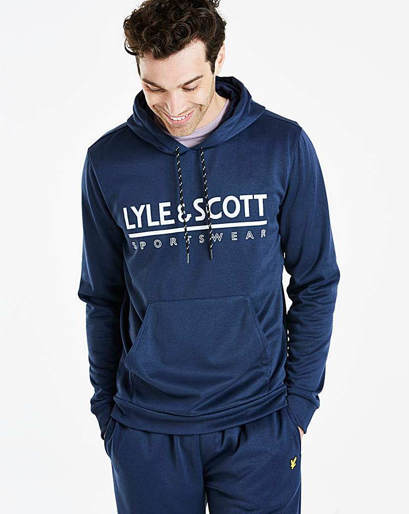 Lyle & Scott Cheviot Graphic Hoodie