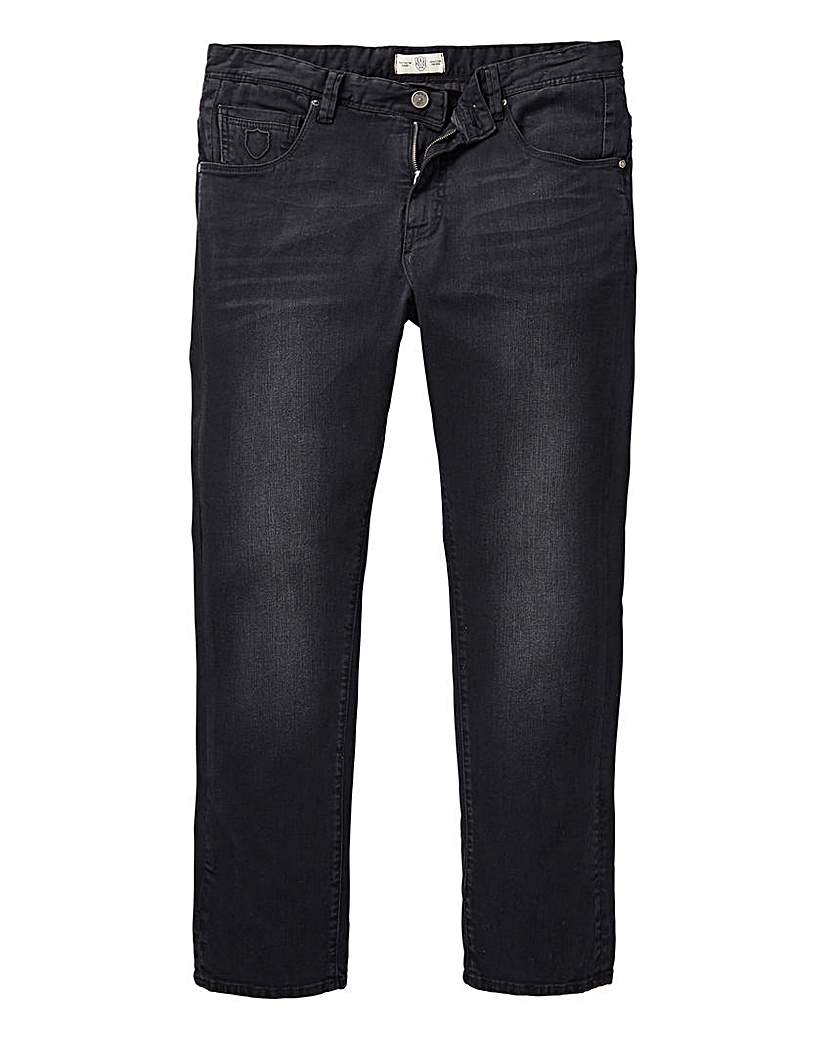 883 Police Black Crane Slim Jean 29 In