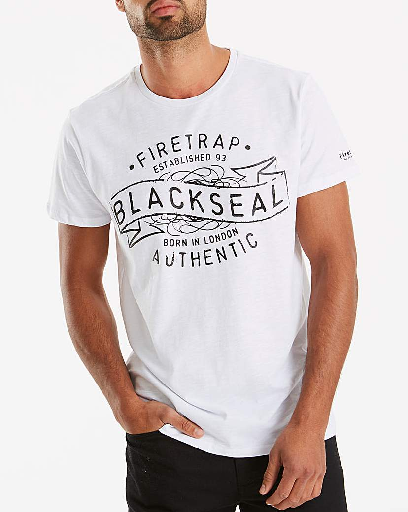Firetrap Cypher T-Shirt Long