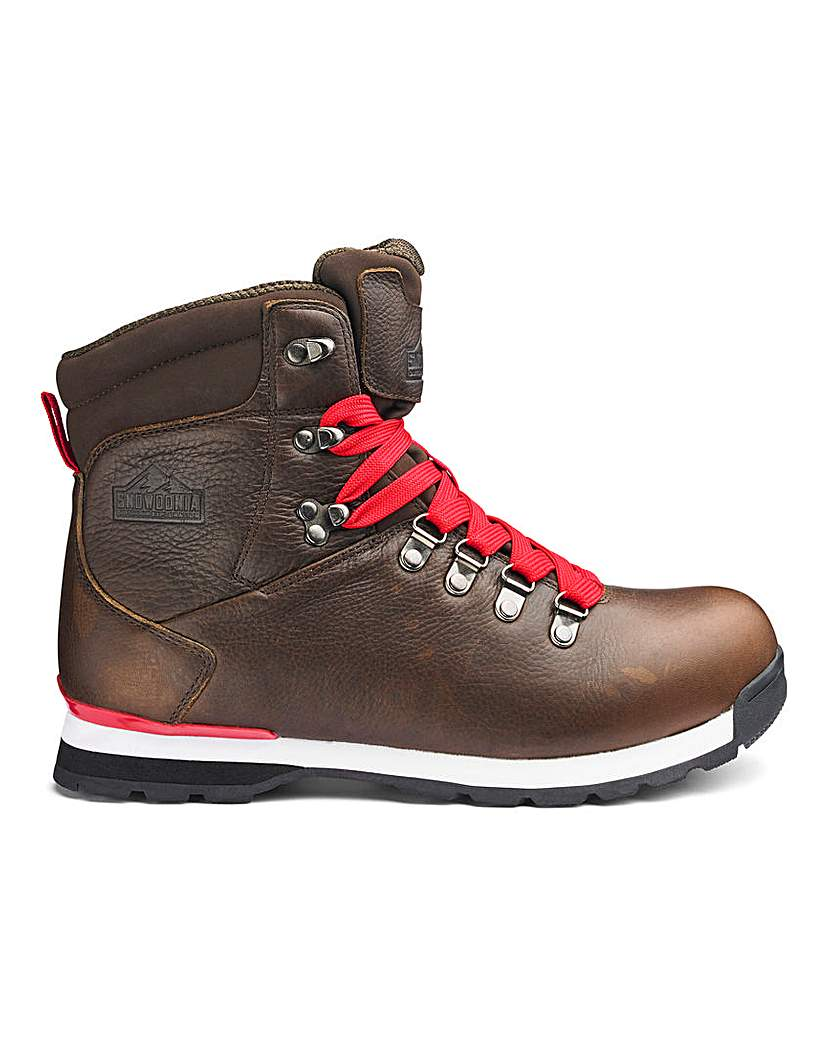 Snowdonia Mens Leather Walking Boots
