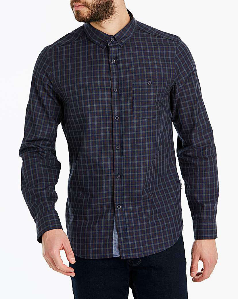Peter Werth Fine Check Shirt Long