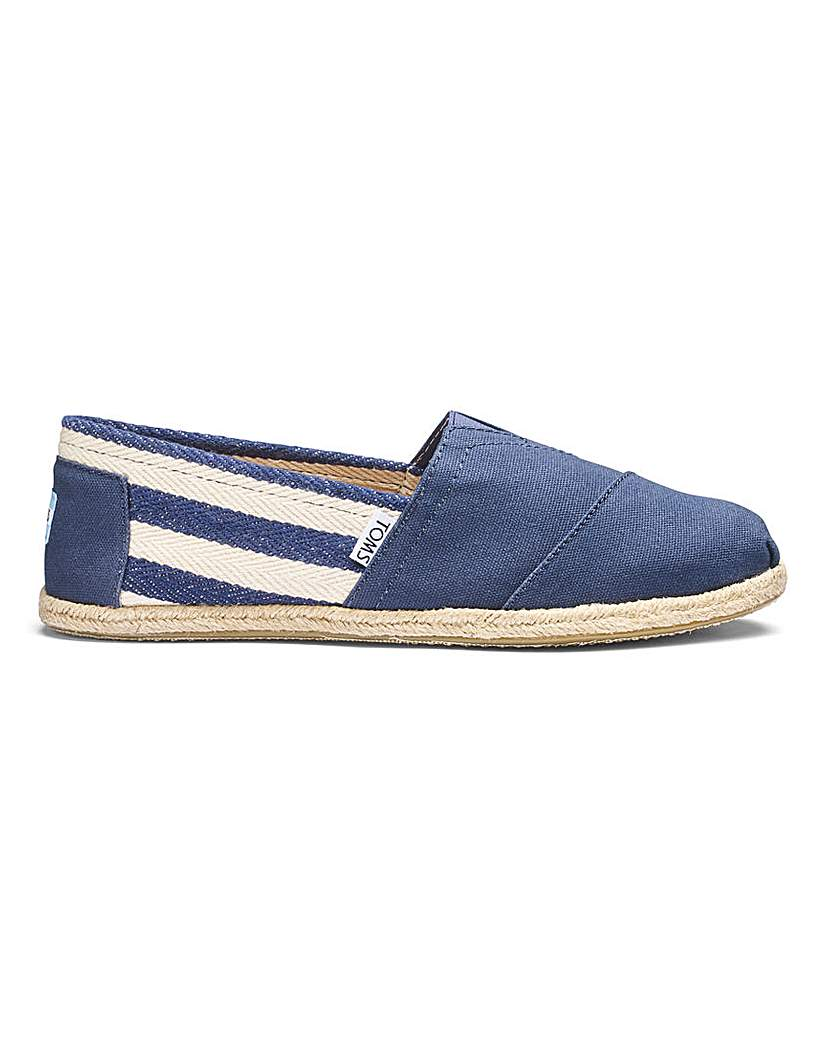 Toms University Canvas Espadrilles