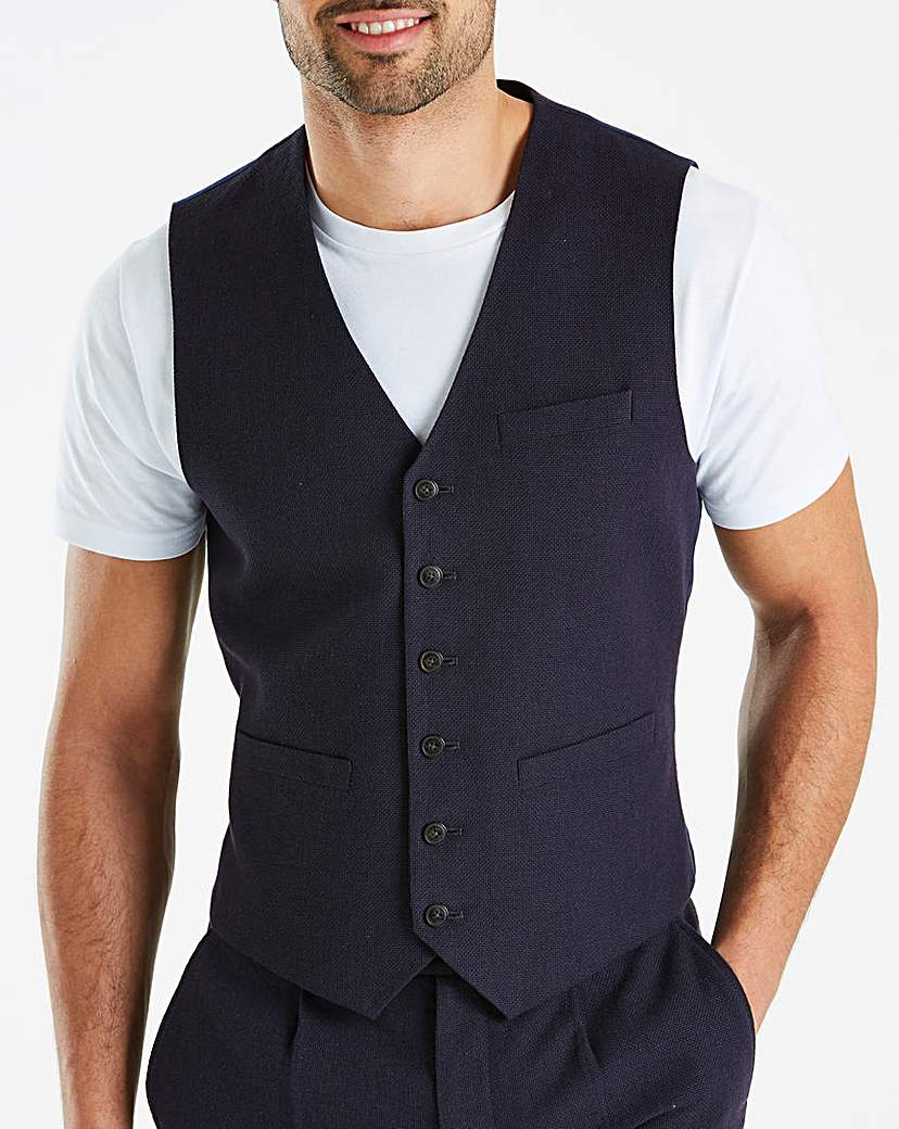 Hammond & Co Basketweave Waistcoat