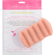The Konjac Sponge Company 6 Wave Bath Sponge with Pink Clay