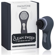 Magnitone London The Clean Sweep Skin Brush for Men - Dark Grey