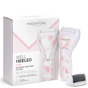 Magnitone London Well Heeled! Express Pedicure System - Pastel Pink