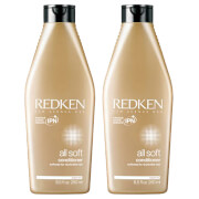 Redken All Soft Conditioner Duo (2 x 250ml)
